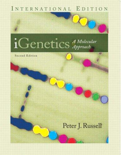 Igenetics: AND Practical Skills in Biomolecular Sciences: Peter J. Russell,
