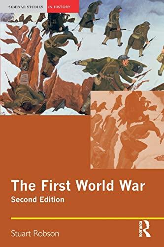 9781405824712: The First World War