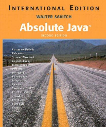9781405825306: Absolute Java