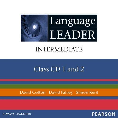 9781405826389: Language Leader Intermediate Class CDs