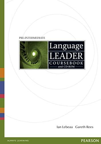 Language Leader Pre-Intermediate Coursebook and CD-Rom Pack: Lebeau, Mr Ian