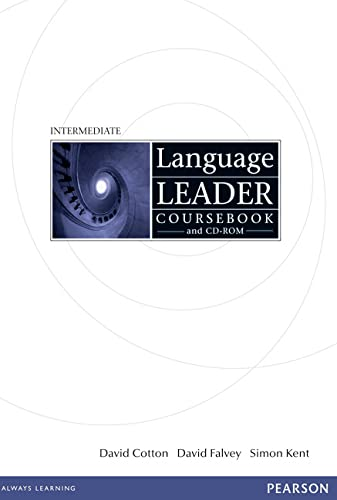 9781405826884: Language Leader Intermediate Coursebook and CD-ROM Pack