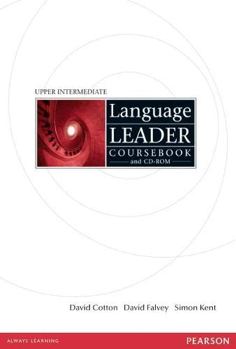 9781405826891: Language Leader Upper Intermediate Coursebook and CD-ROM Pack