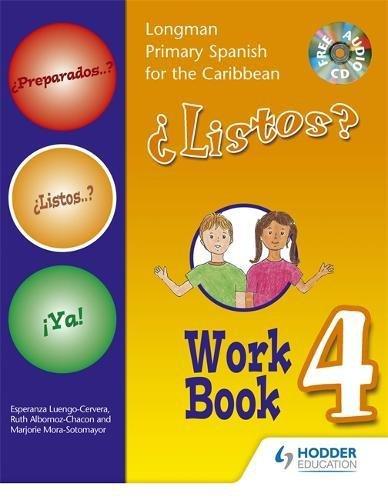 9781405827829: Preparados Listos Ya! (Primary Spanish) Workbook 4