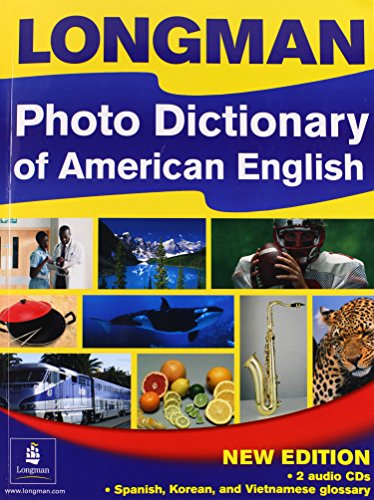9781405827973: Longman Photo Dictionary of American English (Multilingual Edition with Audio CDs)
