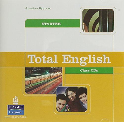 9781405828239: Total English Starter Class CDs