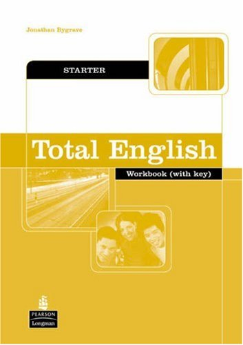 9781405828260: Total English: Starter Workbook with Key