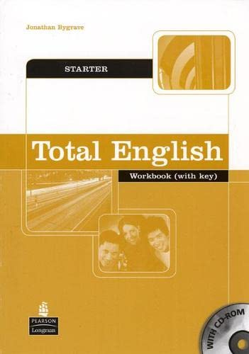 9781405829151: Total English: Starter Workbook with Key
