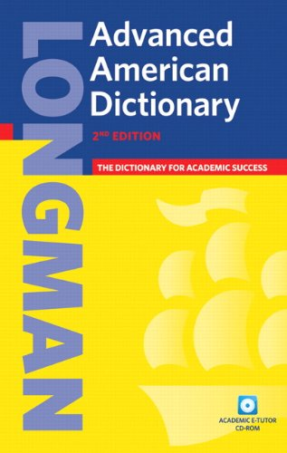9781405829526: Longman Advanced American Dictionary (hardcover), with CD-ROM (2nd Edition)