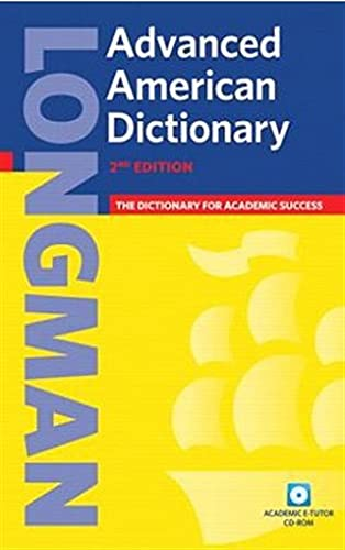 9781405829540: Longman Advanced American Dictionary 2nd Ed Paper and CD ROM Pack