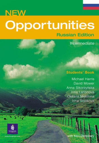 Opportunities Russia Intermediate Students Book (Paperback): Michael Harris, David