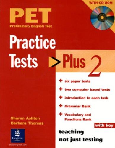 9781405831376: Pet practise tests plus. With key. Per le Scuole superiori. Con CD Audio: PET Practice Tests Plus 2 With Key