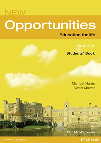 9781405832007: new opportunities beginner student's book