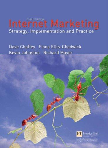 9781405832366: Online Value Pack: Internet Marketing with OneKey Blackboard Access Card: Chaffey, Internet Marketing 3e: AND Onekey Blackboard Access Card