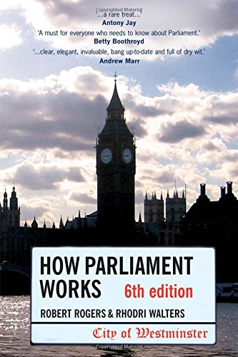 9781405832557: How Parliament Works 6th edition