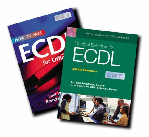 9781405832724: How to Pass ECDL 4: WITH Practical Exercises for ECDL 4 AND ECDL VP Sticker HTP+Prac Ex4 AND ECDL VP Sticker: Office 2000