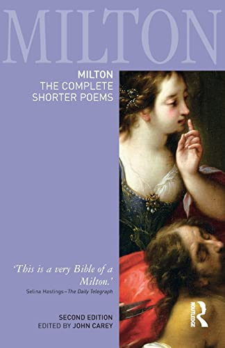 Milton: The Complete Shorter Poems (Longman Annotated English Poets): John Milton