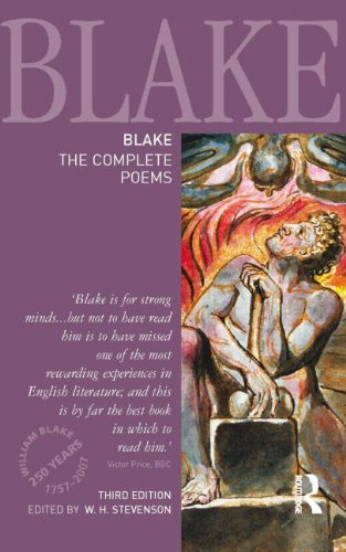 9781405832809: Blake: The Complete Poems (Longman Annotated English Poets)