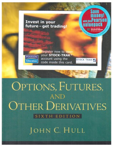 9781405832908: Online Course Pack: Options, Futures and Other Derivatitives with Stock-Trak Access Card: AND Stock-Trak Access Card