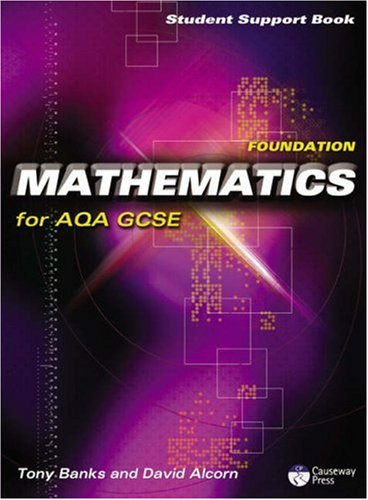 9781405834902: Causeway Press Foundation Mathematics for AQA GCSE - Student Support Book: Linear