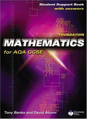 9781405834919: Causeway Press Foundation Mathematics for AQA GCSE - Student Support Book (With Answers): Linear