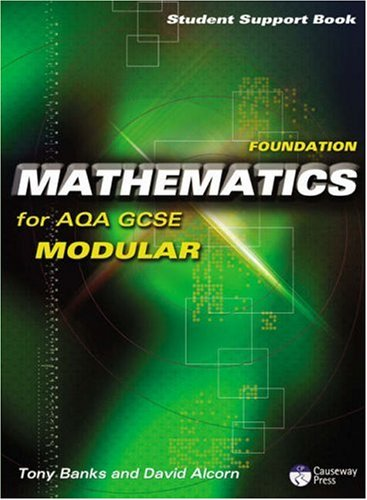 9781405834940: Causeway Press Foundation Mathematics for AQA GCSE (Modular) - Student Support Book