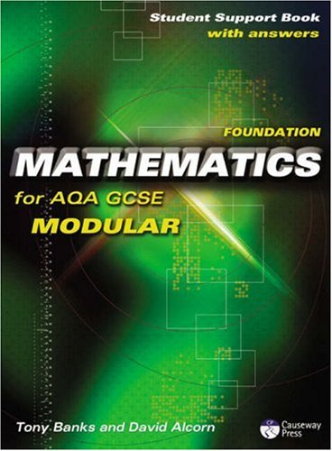 9781405834957: Causeway Press Foundation Mathematics for AQA GCSE (Modular) - Student Support Book (With Answers)