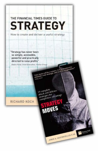 9781405835237: Valuepack: Strategy Bestsellers: FT Guide to Strategy with Strategy Moves: AND Strategy Moves