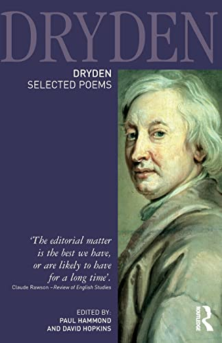 9781405835459: Dryden:Selected Poems