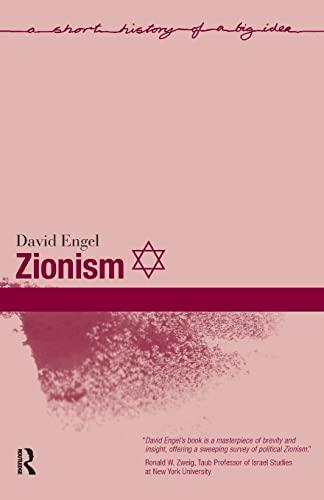 9781405835565: Zionism (A Short History of a Big Idea)