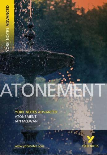 9781405835619: Atonement: York Notes Advanced