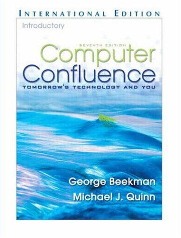 9781405835787: Computer Confluence Introductory: Tomorrow's Technology and You