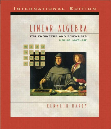 9781405835893: Linear Algebra for Engineers and Scientists Using Matlab: AND Maple 10 VP
