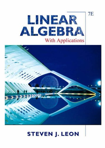 9781405835978: Linear Algebra with Applications: AND Maple 10 VP