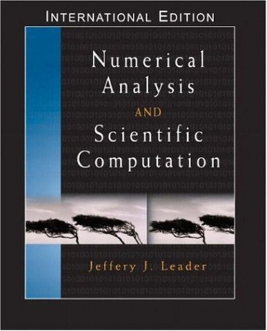 9781405836098: Numerical Analysis and Scientific Computation: (International Edition) with Maple 10 VP