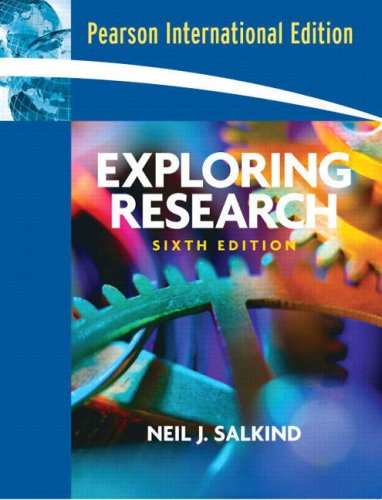 9781405836623: Exploring Research (6th Edition)