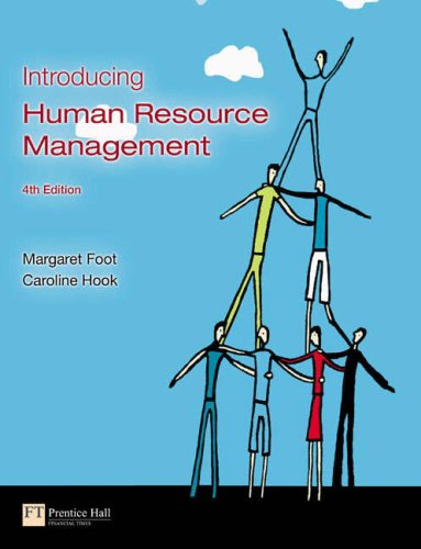 9781405837293: Introducing Human Resource Management