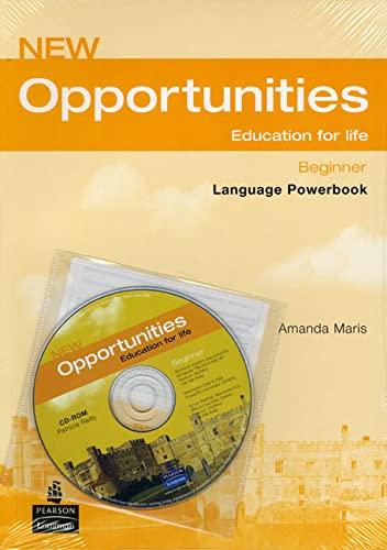 9781405837958: new opportunities beginner language powerbook