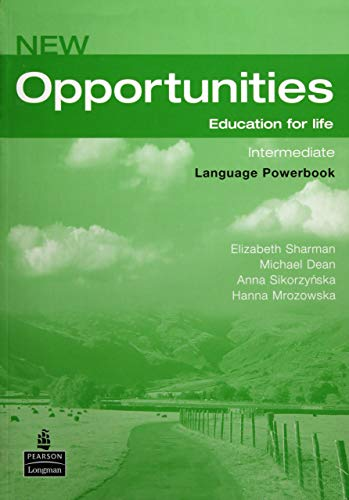 9781405837989: New Opportunities Intermediate WB+CD