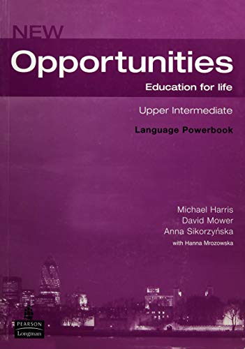 9781405837996: Opportunities Global Upper-Int Language Powerbook Pack: WITh Opportunities Upper-Intermediate Global Language Powerbook AND Opportunities CD-ROM
