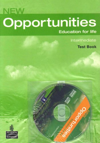 9781405838054: Opportunities Int Test CD Pack: WITH Opportunities Intermediate Global Test Book AND Audio CD (Opportunities)
