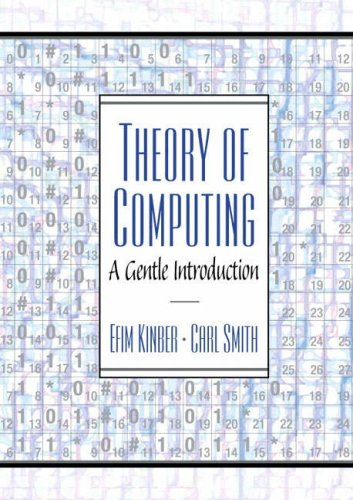 9781405839853: Theory of Computing: A Gentle Introduction: AND Concepts of Programming Languages