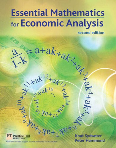 Marketing: AND Essential Mathematics for Economic Analysis: Real People, Real Chioces (1405839880) by Sydsaeter, Knut; Hammond, Peter