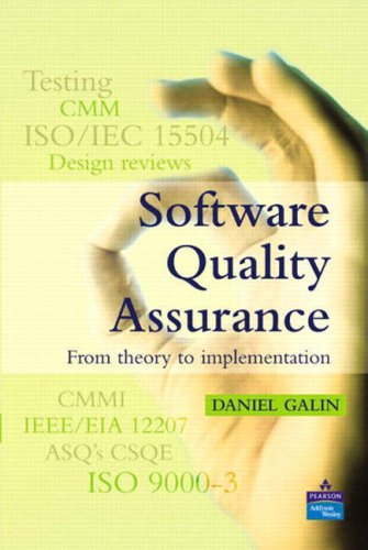 9781405839907: Software Engineering Processes: AND Software Quality Assurance, from Theory to Implementation: With the Upedu