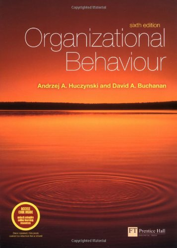 9781405840972: Organizational Behaviour