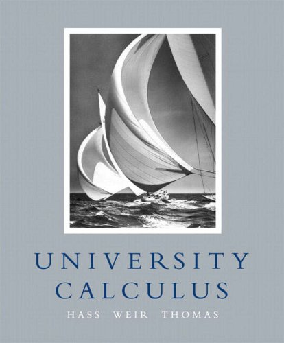 9781405840996: University Calculus: United States Edition with Maple 10