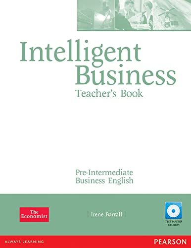 9781405843393: Intelligent Business Pre-Intermediate Teachers Book and Test Master CD-Rom Pack