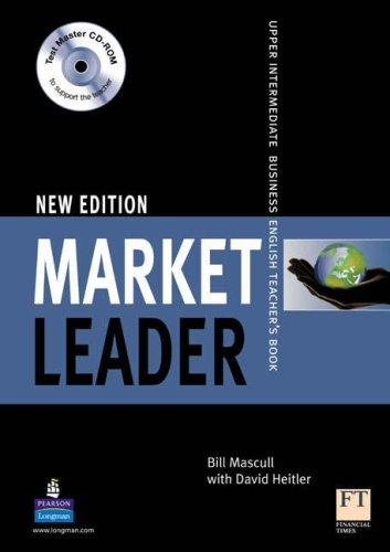 9781405843461: Market Leader Upper intermediate Teacher s Book Testmaster CD ROM Market Leader