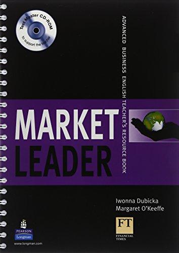 9781405843478: Market Leader Advanced Teachers Book Market Leader