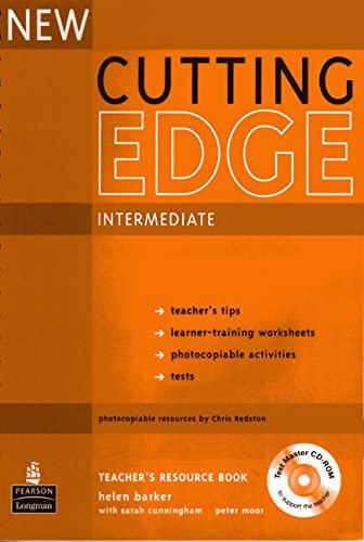 9781405843508: New Cutting Edge Intermediate: Teacher's Book Plus Test Master CD-ROM (Cutting Edge)
